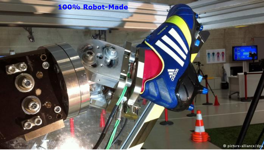 9c14d2e4aaae Your next pair of Adidas shoes may be put together by robots - the German  sports retailer has said it will start selling its first robot-produced  shoes in a ...