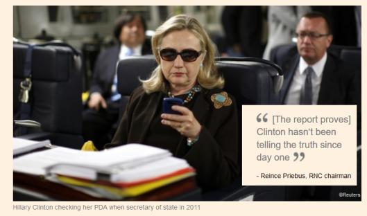 Clinton on PDA