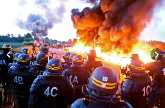 France Running Out of Gasoline; Strikes Now Spread to ...