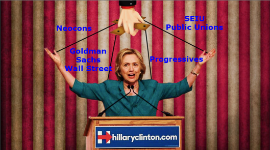 Clinton Puppet