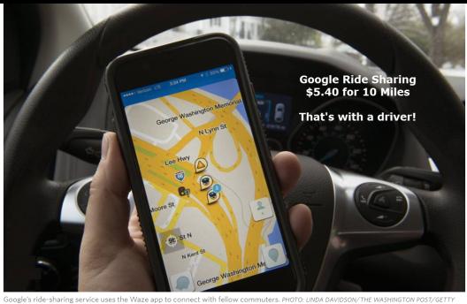 Google Ride Sharing