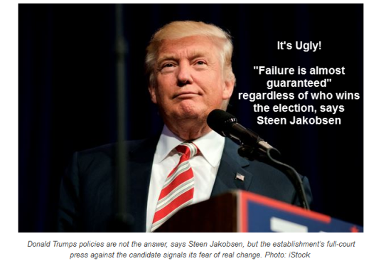 """Ugly! """"Failure Almost Guaranteed"""" Regardless Of Who Wins The Election"""