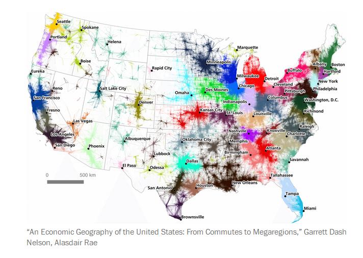 MegaRegions What If We Redrew State Boundaries Today Zero Hedge