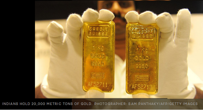 India Confiscates Gold Even Jewelry In Raids On Hidden Money