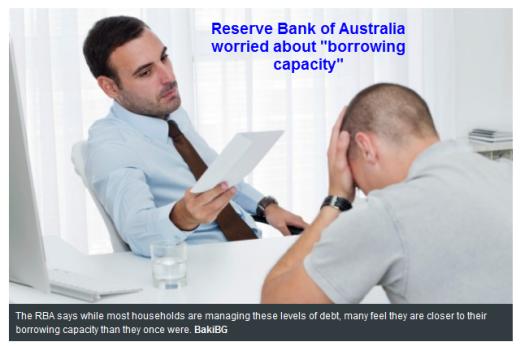 Time To Panic In Australia